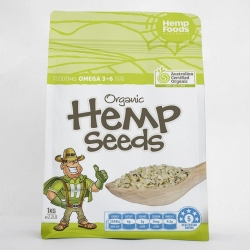 Organic Hulled Hemp Seeds 1kg - Click for more info
