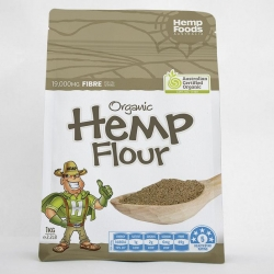 Organic Hemp Flour 1kg - Click for more info