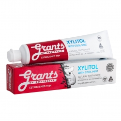Grants Xylitol Mint Toothpaste 110g