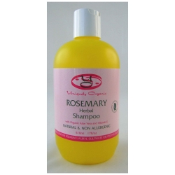 Uniquely Organic Rosemary Herbal Organic Shampoo 500ml - Click for more info