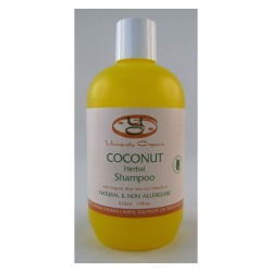 Uniquely Organic Coconut Herbal Organic Shampoo 500ml - Click for more info