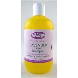 Uniquely Organic Lavender Herbal Shampoo 510ml - Click for more info