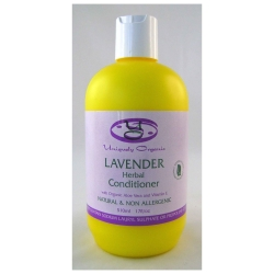 Uniquely Organic Lavender Herbal Organic Conditioner 500ml - Click for more info