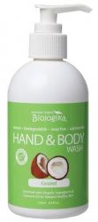 Australian Biologika Coconut Hand & Body Wash 250ml