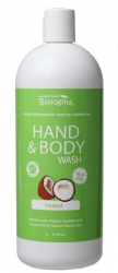 Australian Biologika Coconut Hand & Body Wash 1litre