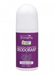 Australian Biologika Organic Lavender Fields Roll On Deodorant 70ml