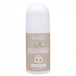Australian Biologika Fragrance Free Deodorant Roll On 70ml