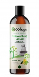Ecologic Lemon & Lime Dishwashing Liquid 500ml