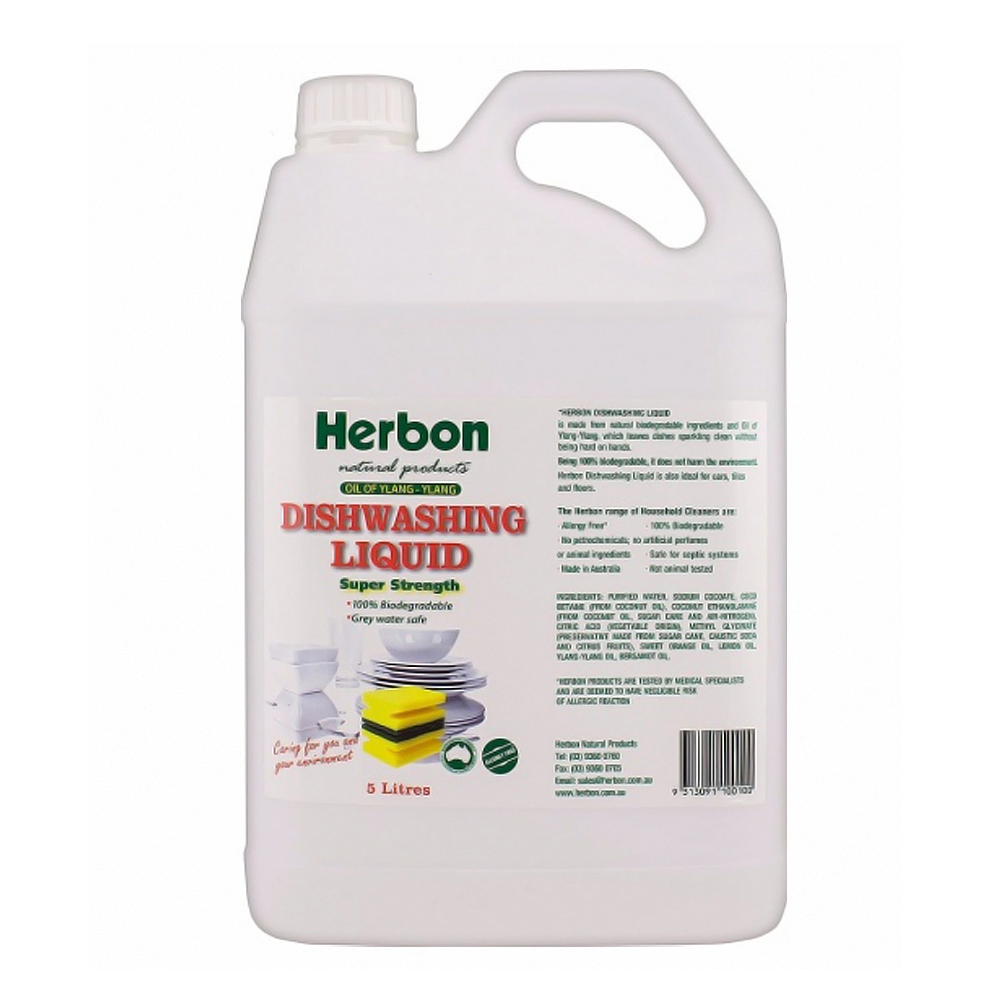 Herbon Dishwashing Liquid 5lt