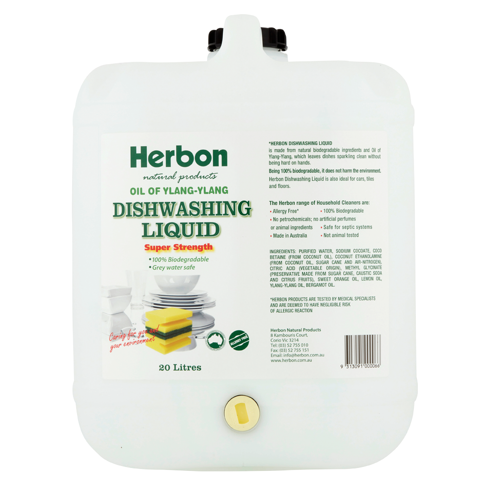 Herbon Dishwashing Liquid 20lt