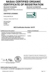 Priority Health is now a NASAA Certified Organic Company