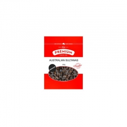 Premium Choice Organic Sultanas 15x250g