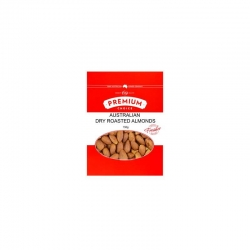 Premium Choice Australian Dry Roasted  Almonds 12x150g