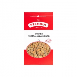 Premium Choice Australian Smoked Almonds 12x400g