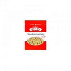 Premium Choice Raw Cashews 15x200g
