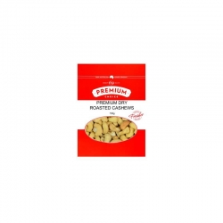 Premium Choice Dry Roasted Cashews 12x150g