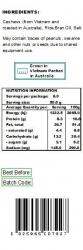 Premium Choice Roasted Salted Cashews W240 12x400g