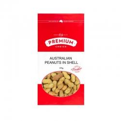 Premium Choice Australian Peanuts In Shell 8x375g