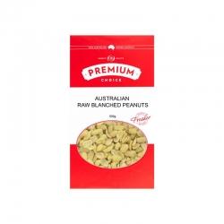 Premium Choice Australian Raw Blanched Peanuts 12x500g