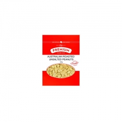 Premium Choice Australian Roasted Unsalted Peanuts 15x250g