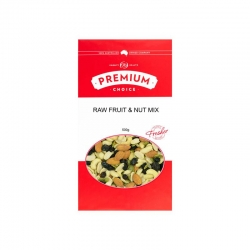 Premium Choice Fruit & Nut Mix Raw 12x500g