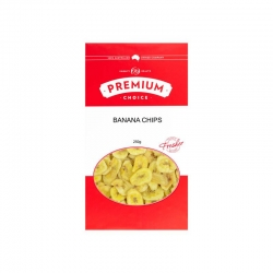 Premium Choice Banana Chips 20x250g