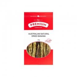 Premium Choice Australian Whole Dried Banana (Sulphur Free) 15x250g