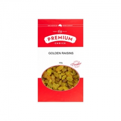 Premium Choice Golden Raisins 12x500g