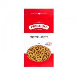 Premium Choice Pretzel Knots 8x250g