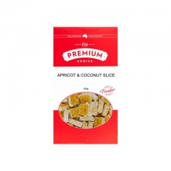 Premium Choice Apricot & Coconut Slice 12x500g