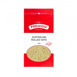 Premium Choice Australian Rolled Oats 8x600g - Click for more info