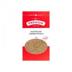 Premium Choice Australian Linseed Whole 10x450g